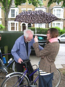 Bike Doctor Adrian gets special treatment...