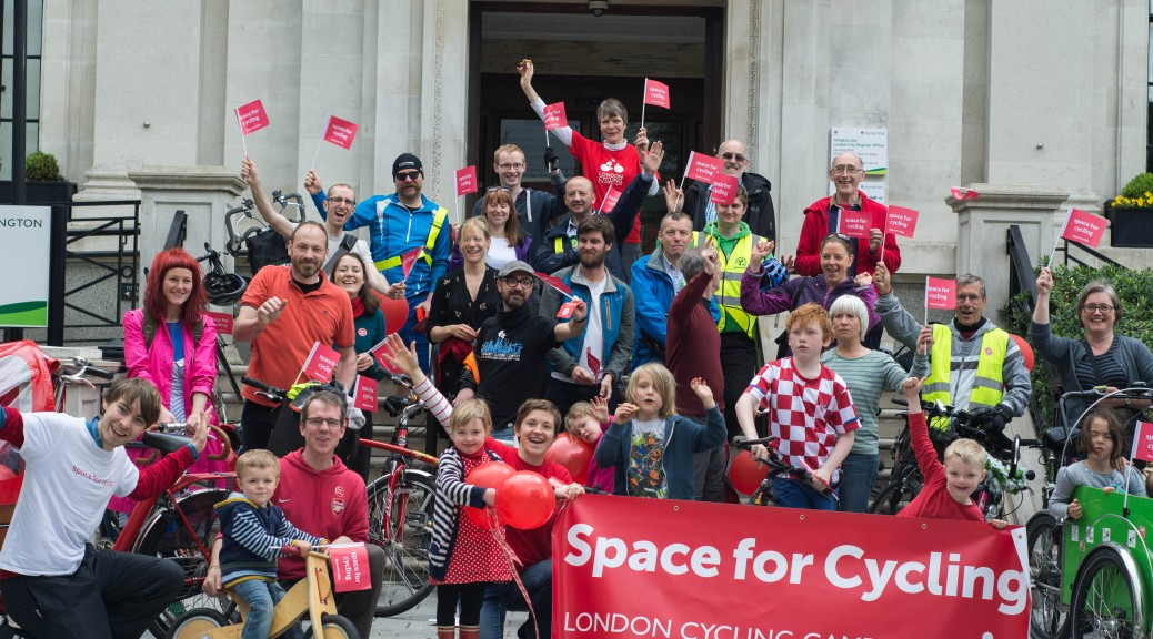 lslington residents want Space for Cycling